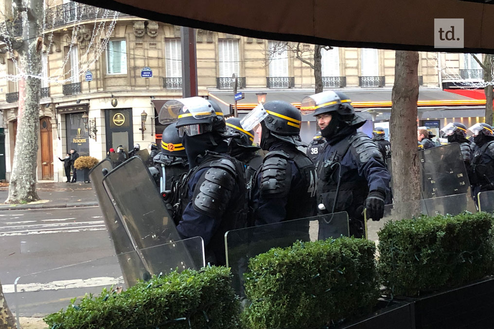 France : nouvelles violences à Paris
