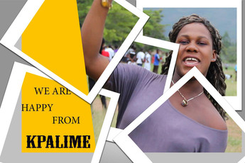 We are happy from Kpalimé
